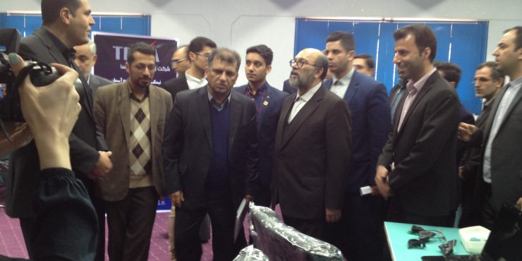 تکسا در افتتاحیه مرکز شتاب دهنده شرکت های دانش بنیان