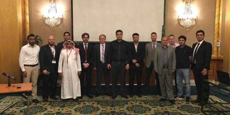 حضور شرکت تکسا در سمینار 2 روزه شرکت سالوانینی ایتالیا در امارات متحده عربی