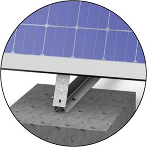 استراکچر خورشیدی H1