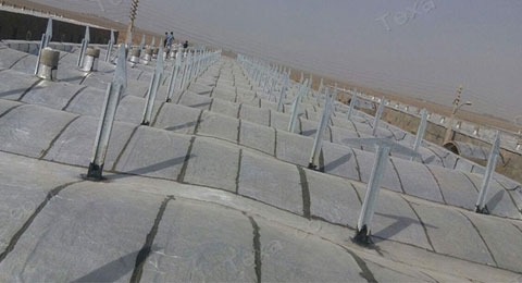 نصب استراکچر خورشیدی بازودار تکسا (3)