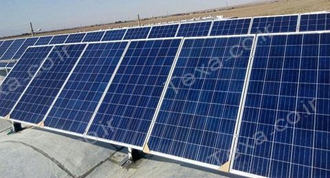 نصب استراکچر خورشیدی بازودار تکسا (6)
