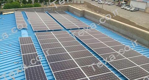 نصب استراکچر خورشیدی تکسا-3