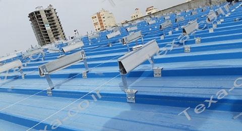نصب استراکچر خورشیدی تکسا-4