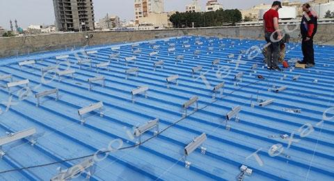نصب استراکچر خورشیدی تکسا-5