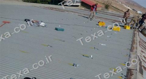 نصب استراکچر خورشیدی سقفی تکسا-قم (6)