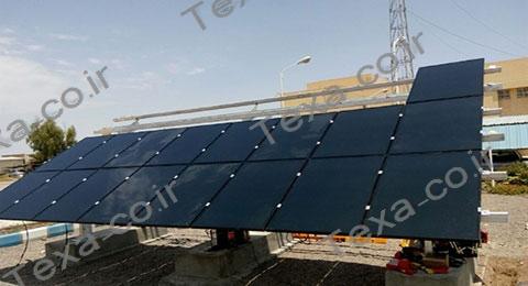 استراکچر خورشیدی سه ردیفه بازودار تکسا (15)
