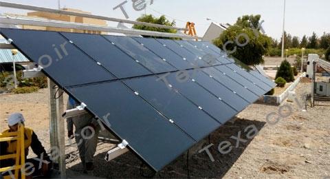 استراکچر خورشیدی سه ردیفه بازودار تکسا (3)