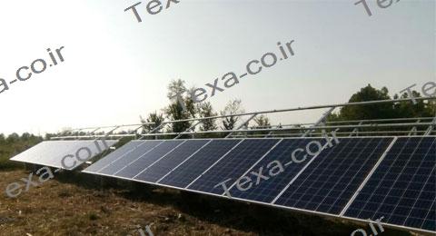 سازه خورشیدی دو ردیفه عمودی تکسا-رشت (4)