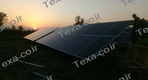 سازه خورشیدی دو ردیفه عمودی تکسا-رشت (5)