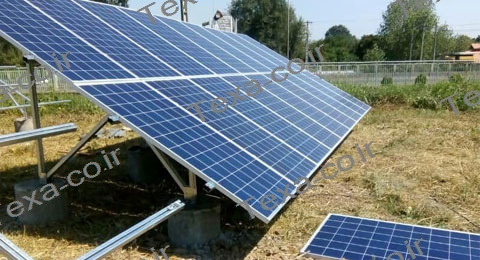 سازه خورشیدی دو ردیفه عمودی تکسا-رشت (9)