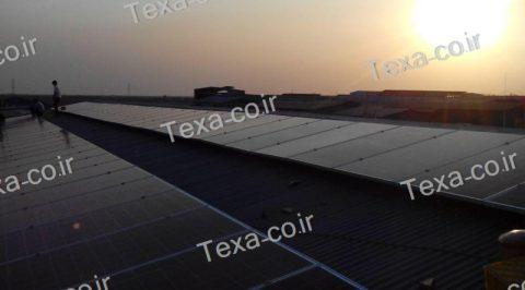 طراحی و ساخت استراکچر خورشیدی (13)