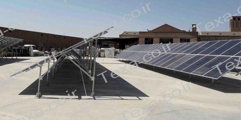 مشخصات سازه نگهدارنده پنل خورشیدی از نظر ساتبا-استراکچر خورشیدی-تکسا