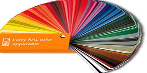 سیستم کد گذاری RAL رنگ