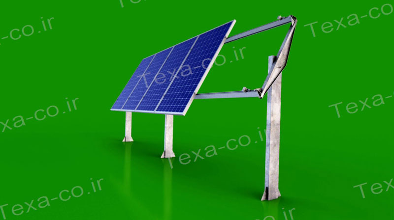 استراکچر خورشیدی بازودار تکسا