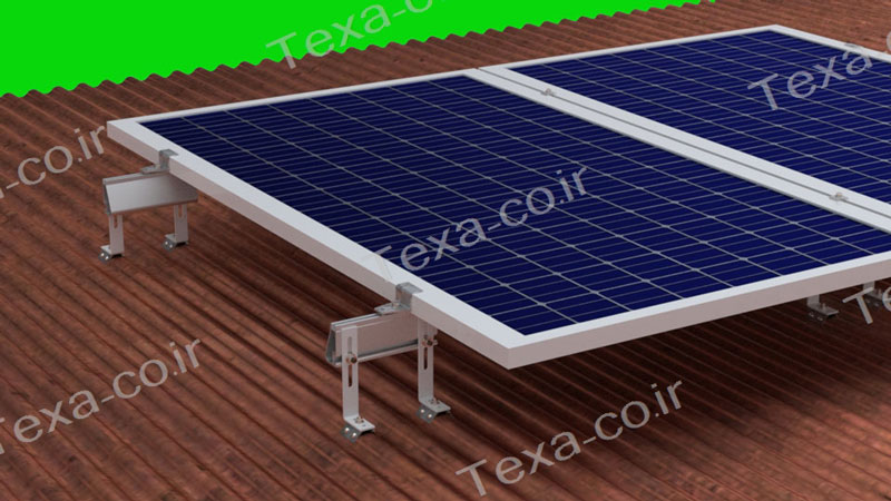 استراکچر خورشیدی سقف سوله تکسا