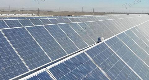 نصب استراکچر خورشیدی بازودار تکسا (4)