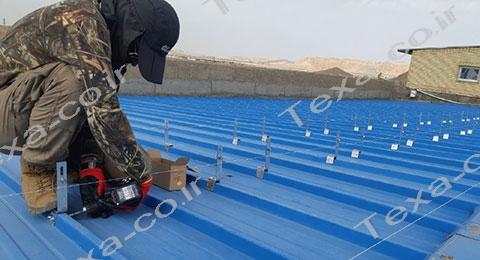 نصب استراکچر خورشیدی تکسا-1