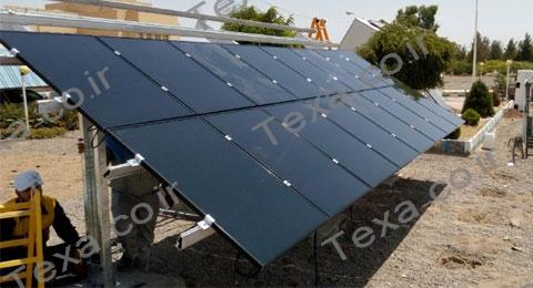 استراکچر خورشیدی سه ردیفه بازودار تکسا (14)