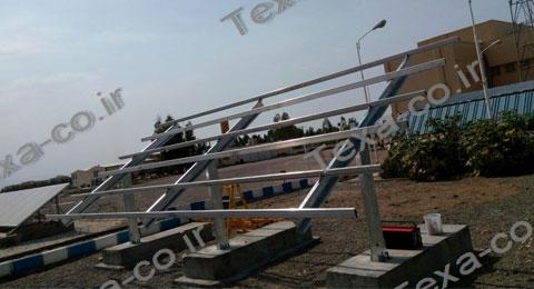 استراکچر خورشیدی سه ردیفه بازودار تکسا (7)