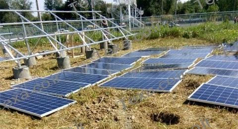 سازه خورشیدی دو ردیفه عمودی تکسا-رشت (1)