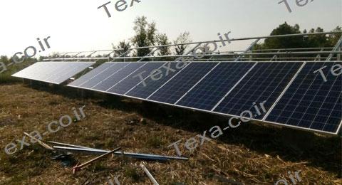 سازه خورشیدی دو ردیفه عمودی تکسا-رشت (3)