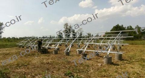 سازه خورشیدی دو ردیفه عمودی تکسا-رشت (6)