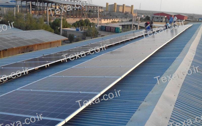 طراحی و ساخت استراکچر خورشیدی (12)