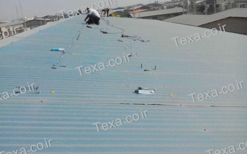 طراحی و ساخت استراکچر خورشیدی (2)
