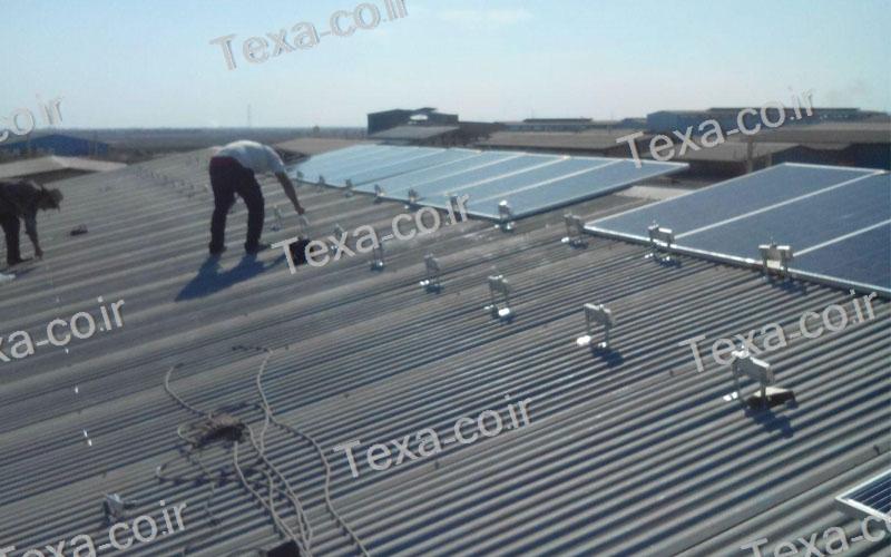 طراحی و ساخت استراکچر خورشیدی (4)