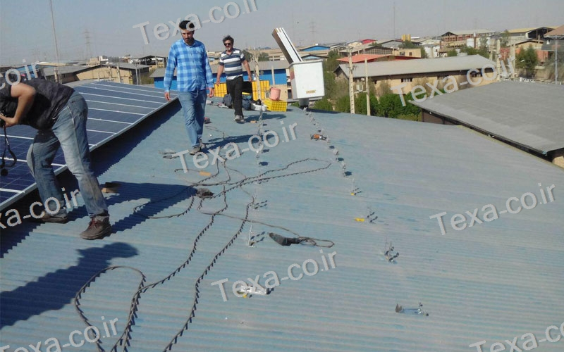 طراحی و ساخت استراکچر خورشیدی (6)