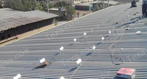 استراکچر خورشیدی سقف سوله-تکسا-اهواز