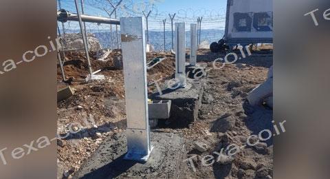 سازه خورشیدی با قابلیت تغییر زاویه-تکسا (4)-استراکچر خورشیدی بازودار